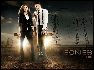 Kości, David Boreanaz, Bones, Serial, Emily Deschanel
