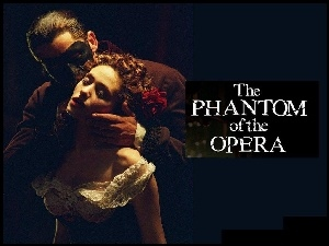 Gerard Butler, Phantom Of The Opera, Emmy Rossum, pocałunek
