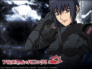 kobieta, uniform, Full Metal Panic