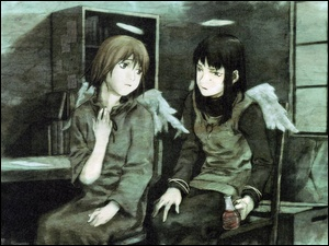 Haibane Renmei, Anioły