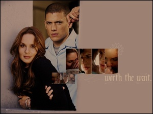 Prison Break, napis, Wentworth Miller, Sarah Wayne Callies