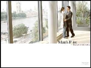 pałac, Match Point, apartament, Jonathan Rhys-Meyers, widok