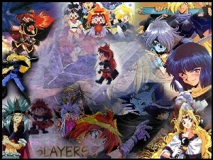 Slayers, Smoki, Magicy