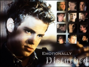 Hayden Christensen, emotionally disturbed niebieskie oczy