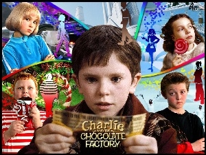 dzieci, Charlie And The Chocolate Factory, Freddie Highmore