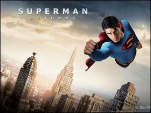 Superman Returns, wieżowce, Brandon Routh, miasto