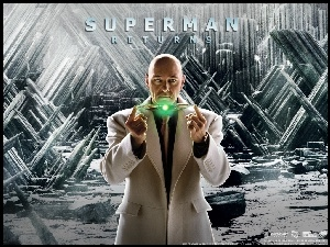Superman Returns, łysy, Kevin Spacey, światełko