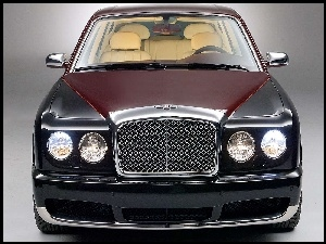 Atrapa, Przód, Bentley Arnage