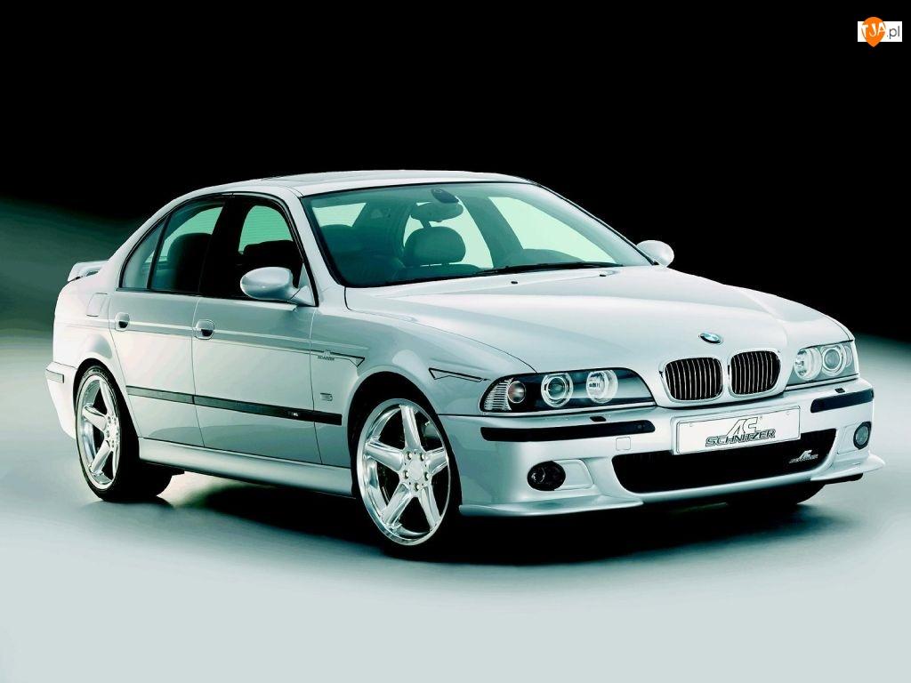 Srebrne, ac-schnitzer, BMW 5, E39