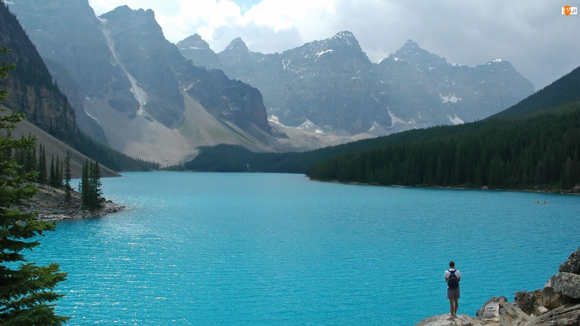Góry, Błękitne, Jezioro