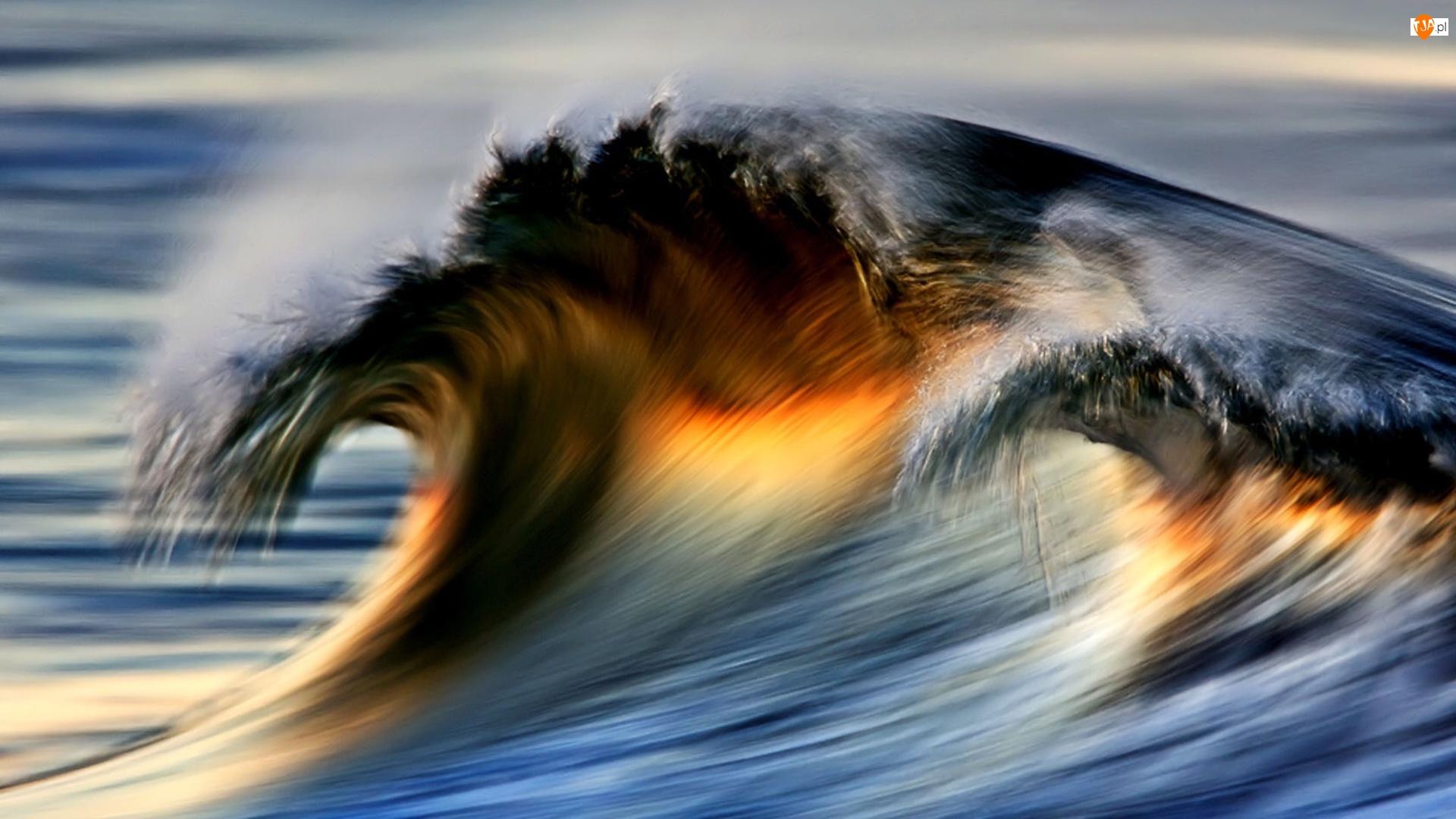 Fala, Morze, Spienina