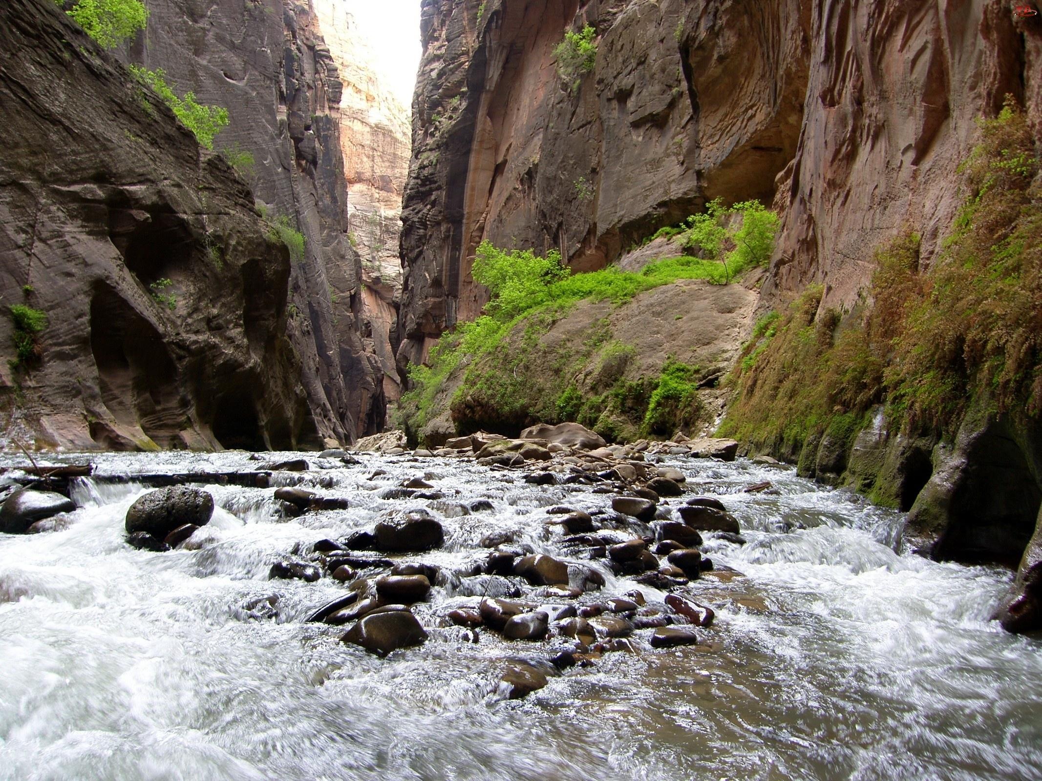 Rzeka, Skały, Kamienie