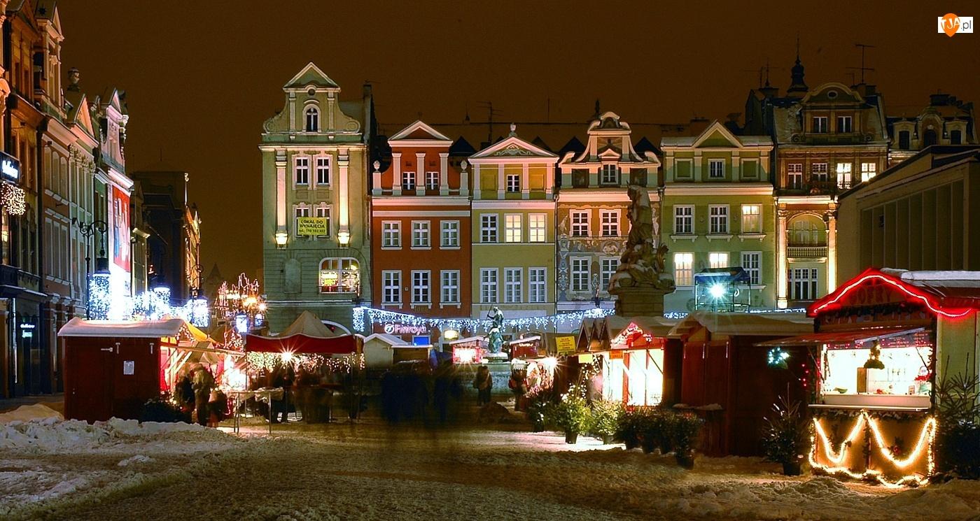 Stary Rynek, Poznań, Kamieniczki