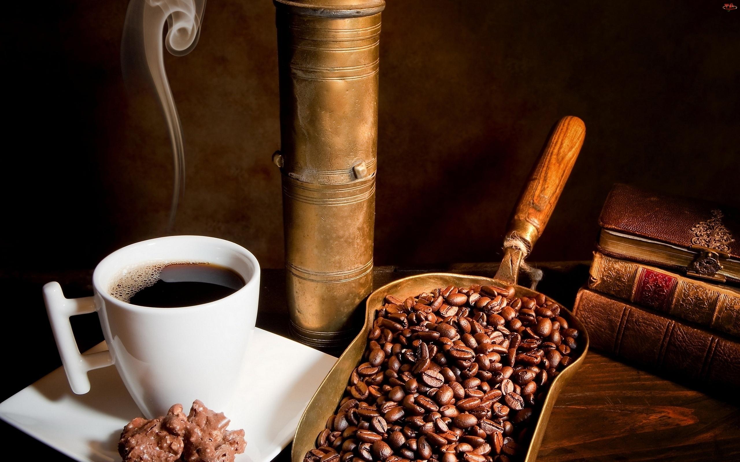 Kawa, Księgi, Kubek, Łycha