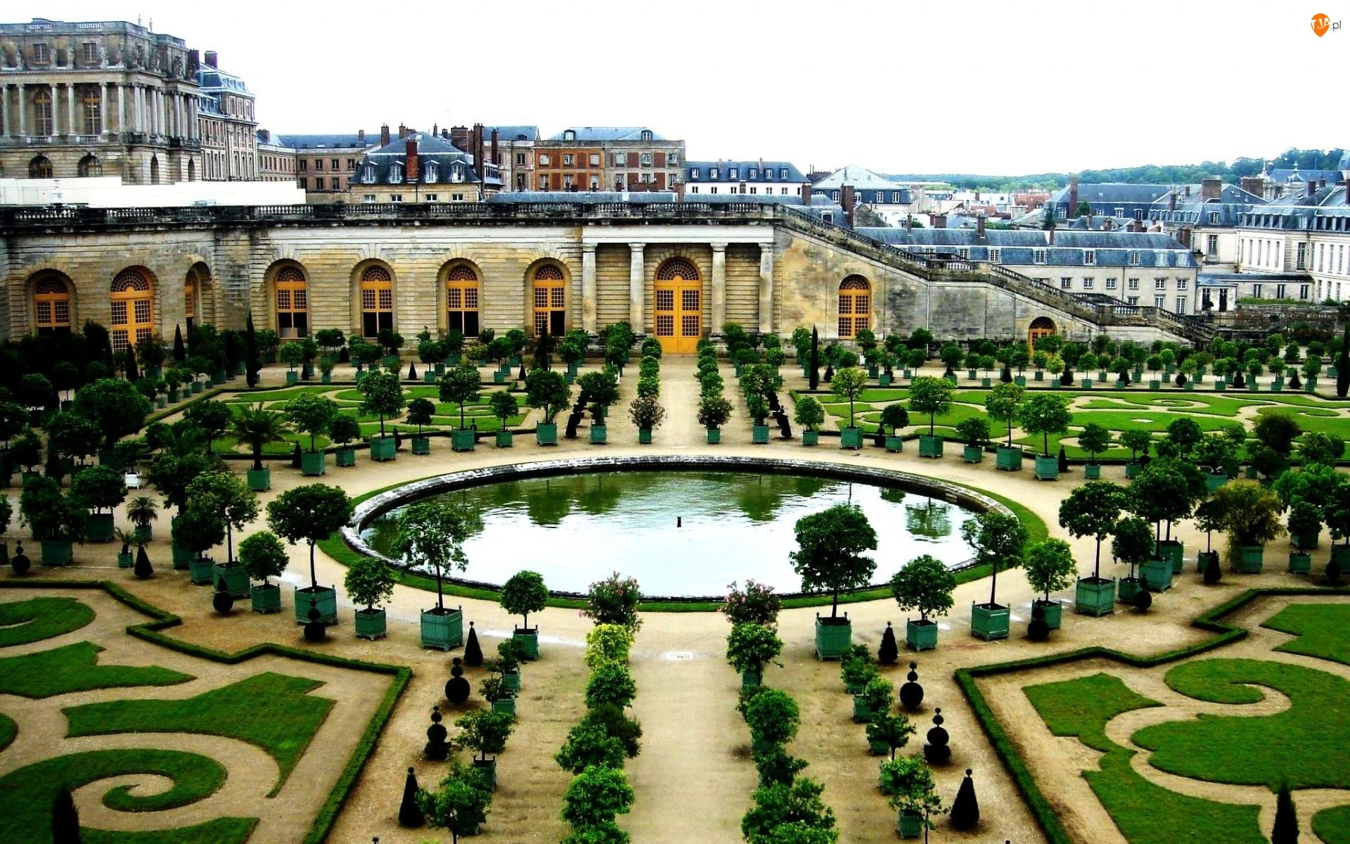 Ogród, Francja, Wersal