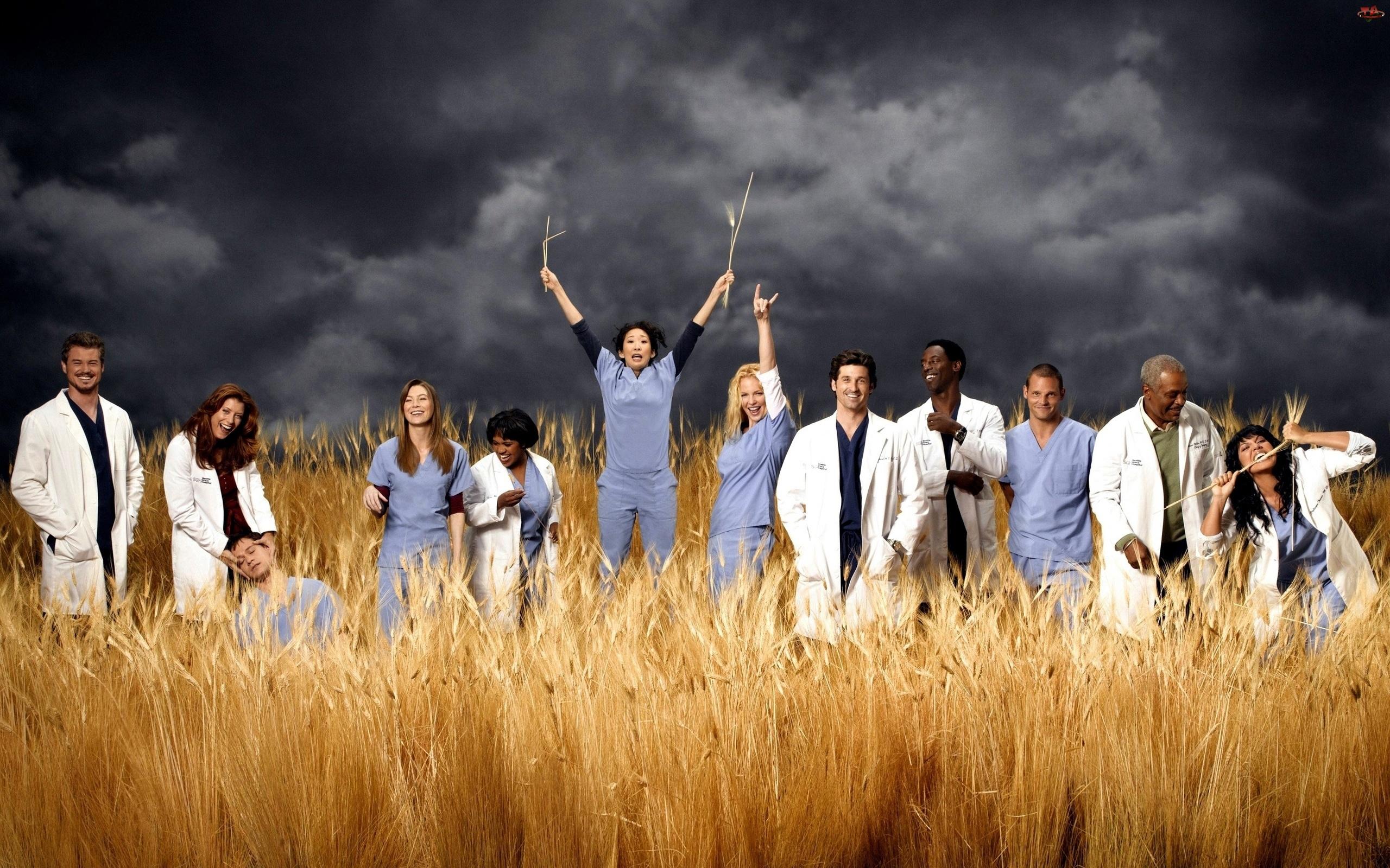 Zboża, Chirurdzy, Chmury, Burzowe, Kłosy