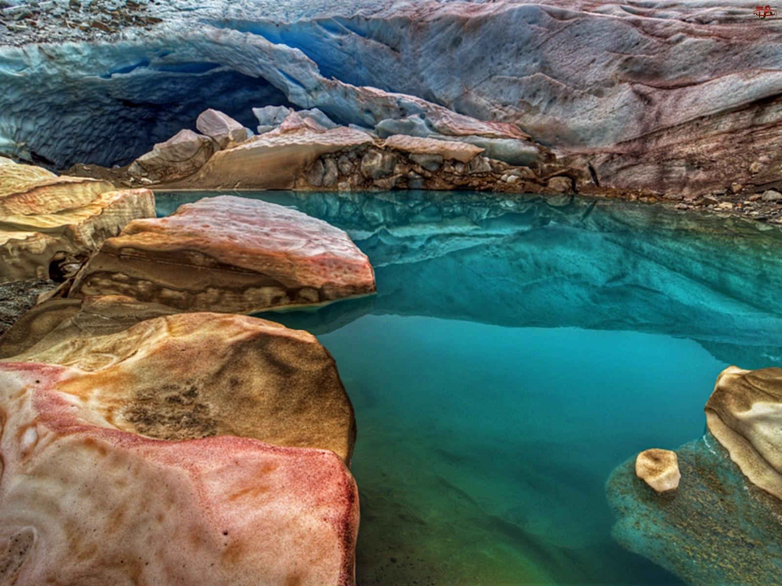 Jeziorko, Kolorowe, Skały