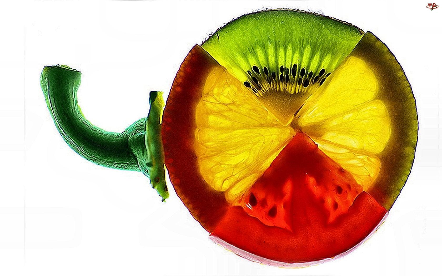 Plasterki, Owoce