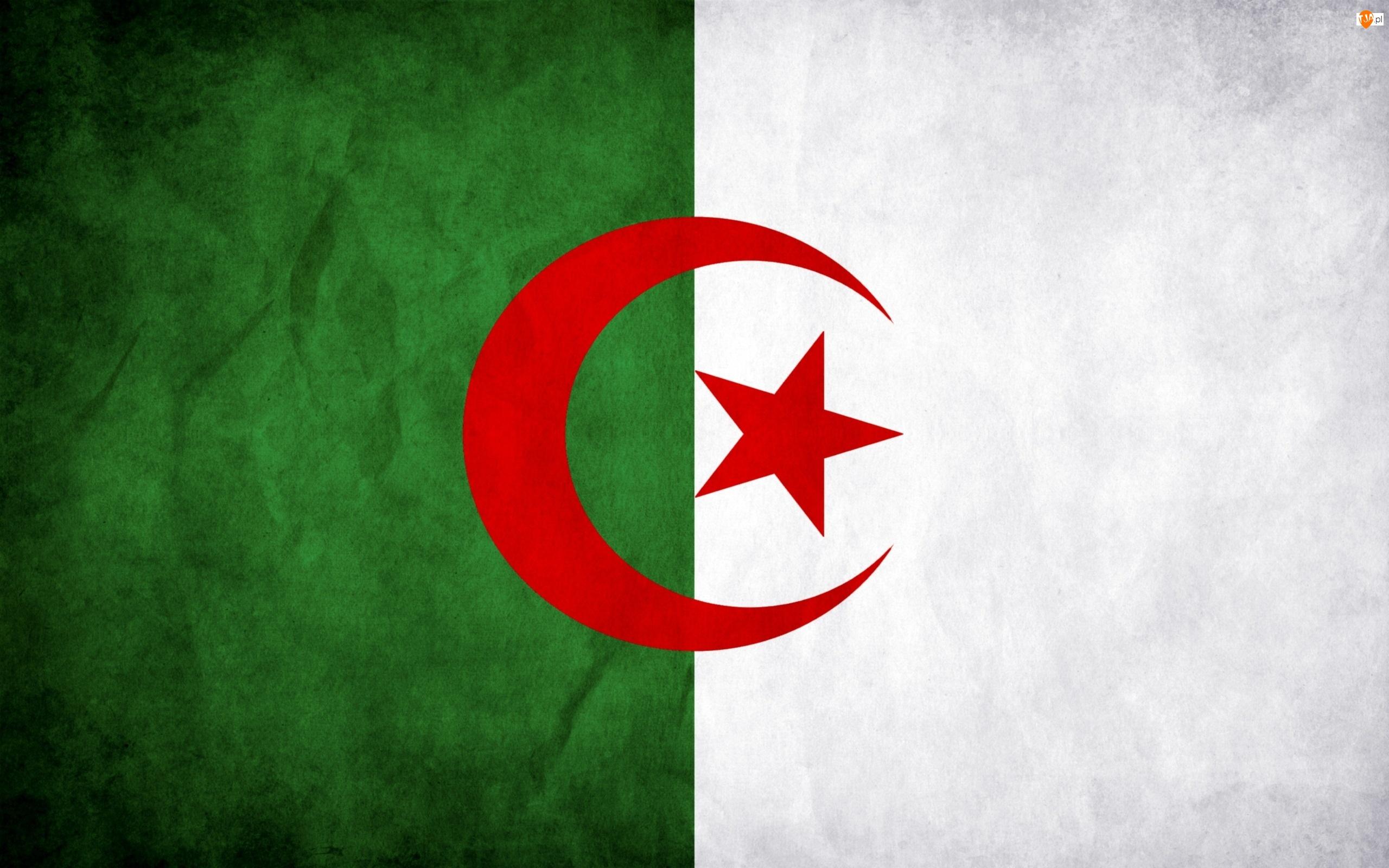 Algieria, Flaga, Państwa
