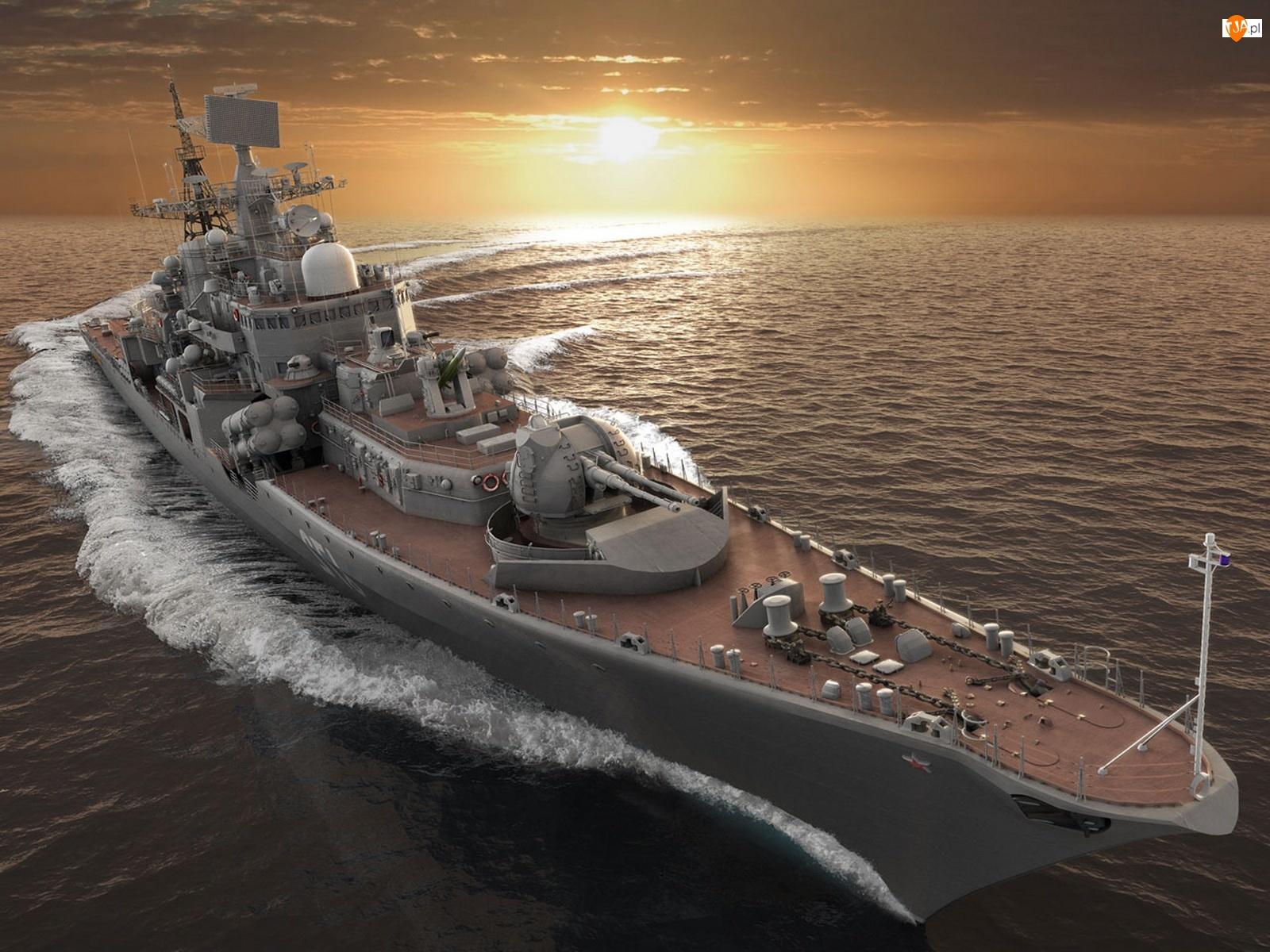 Niszczyciel, Rosja, Rakietowy, Projekt 956