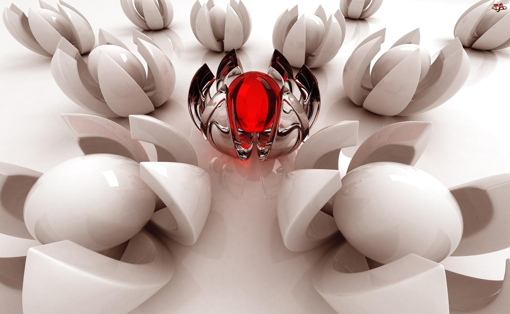 Dekoracja, Jajka, Porcelanowe