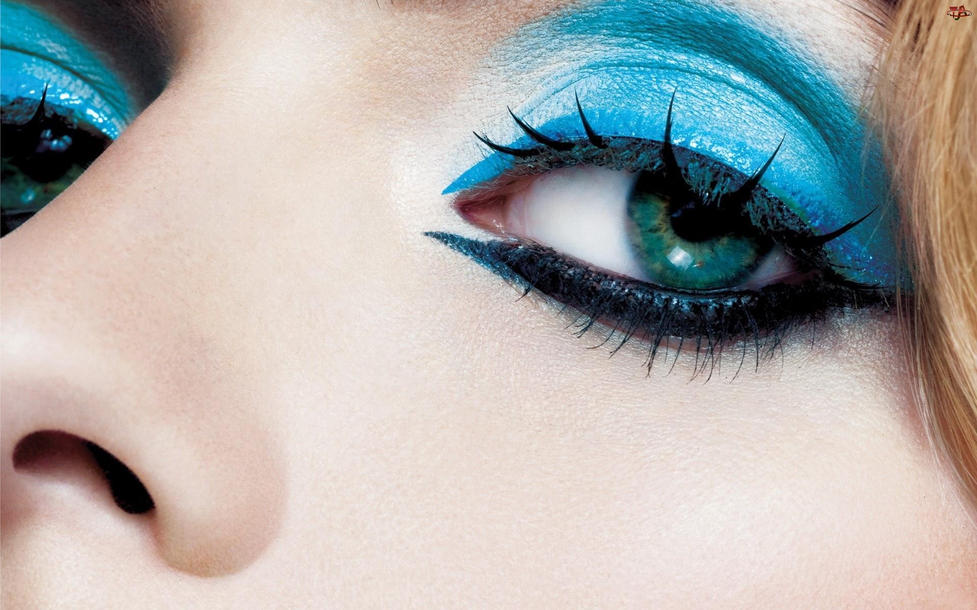 Oko, Makijaż, Piękne