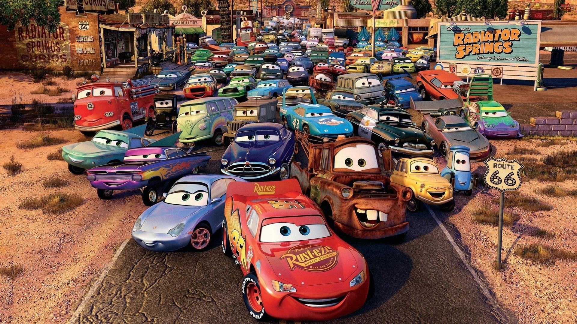 Auta, Samochodziki, Bajka, Cars