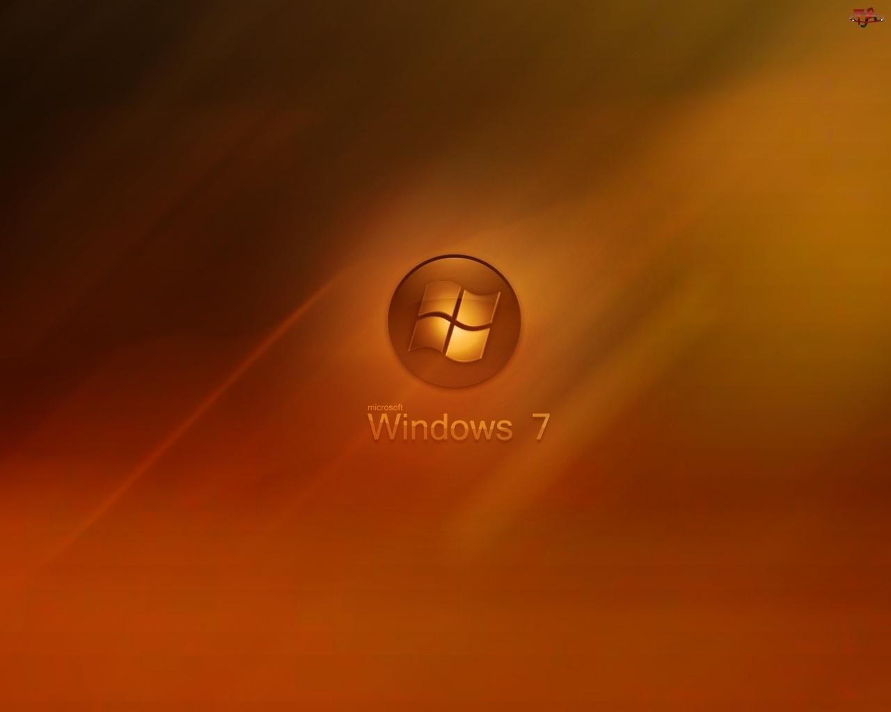 Pomarańcz, Windows 7, Logo