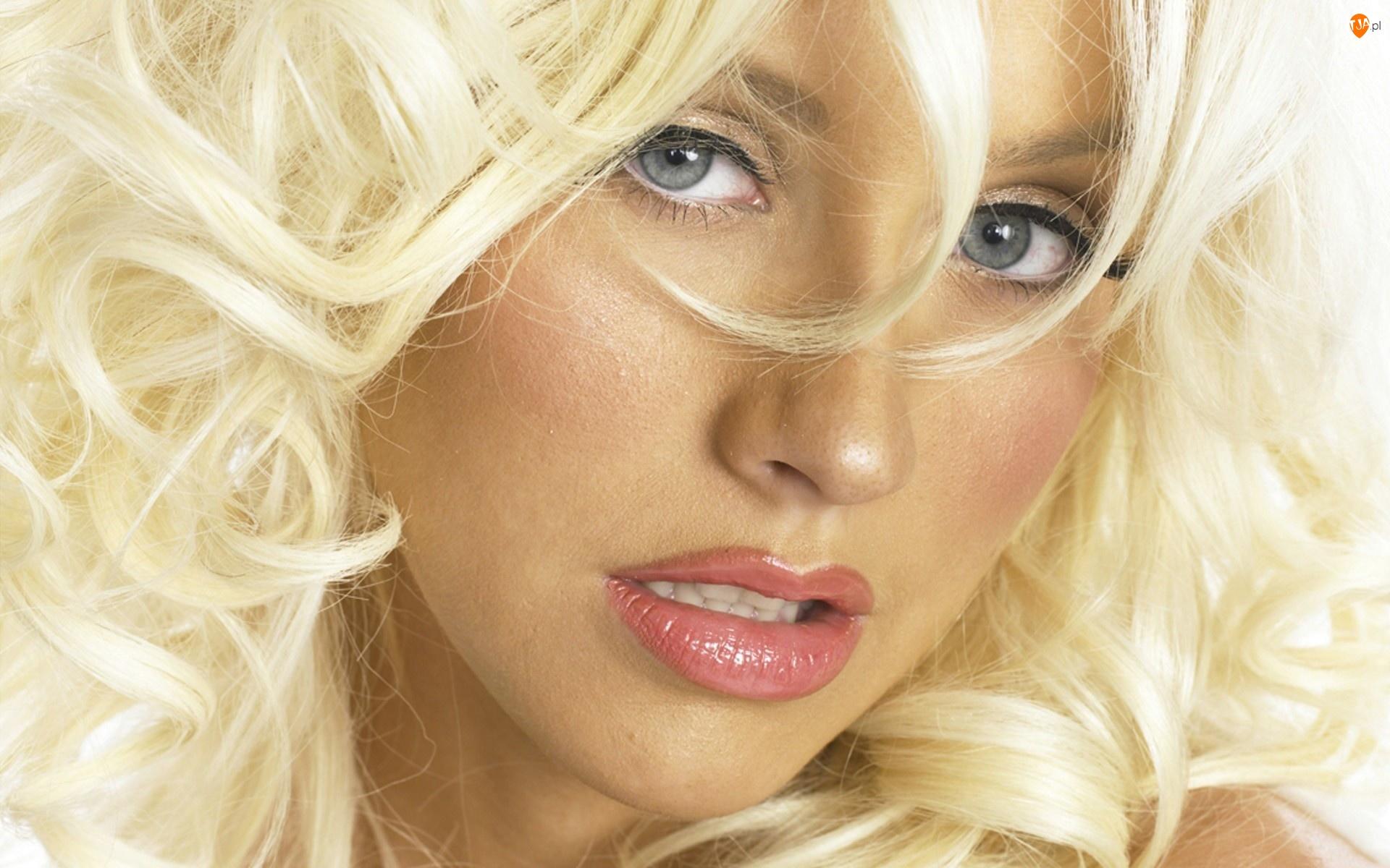 Christina Aguilera, Loki, Portret, Blond