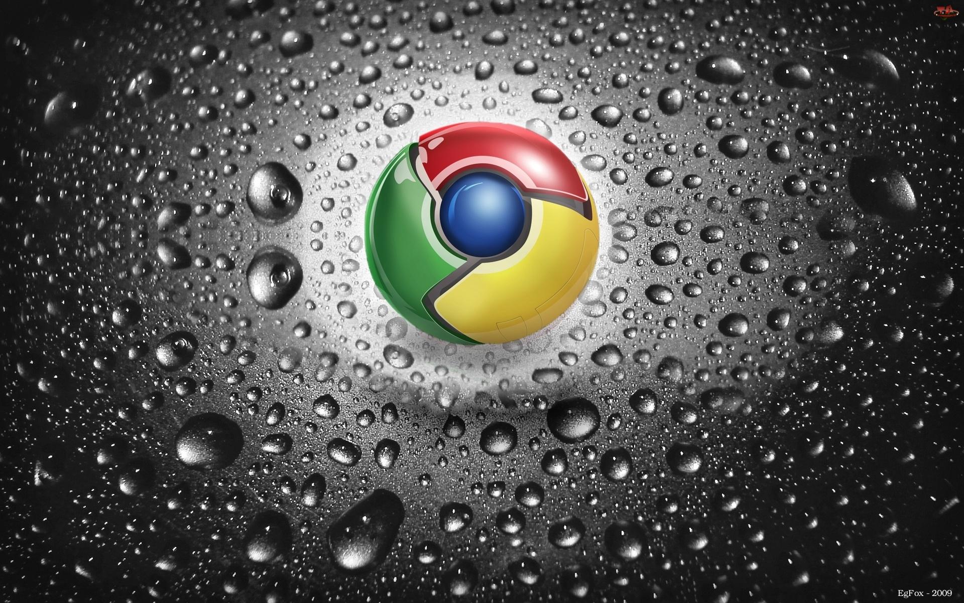 Krople, Chrome, Logo