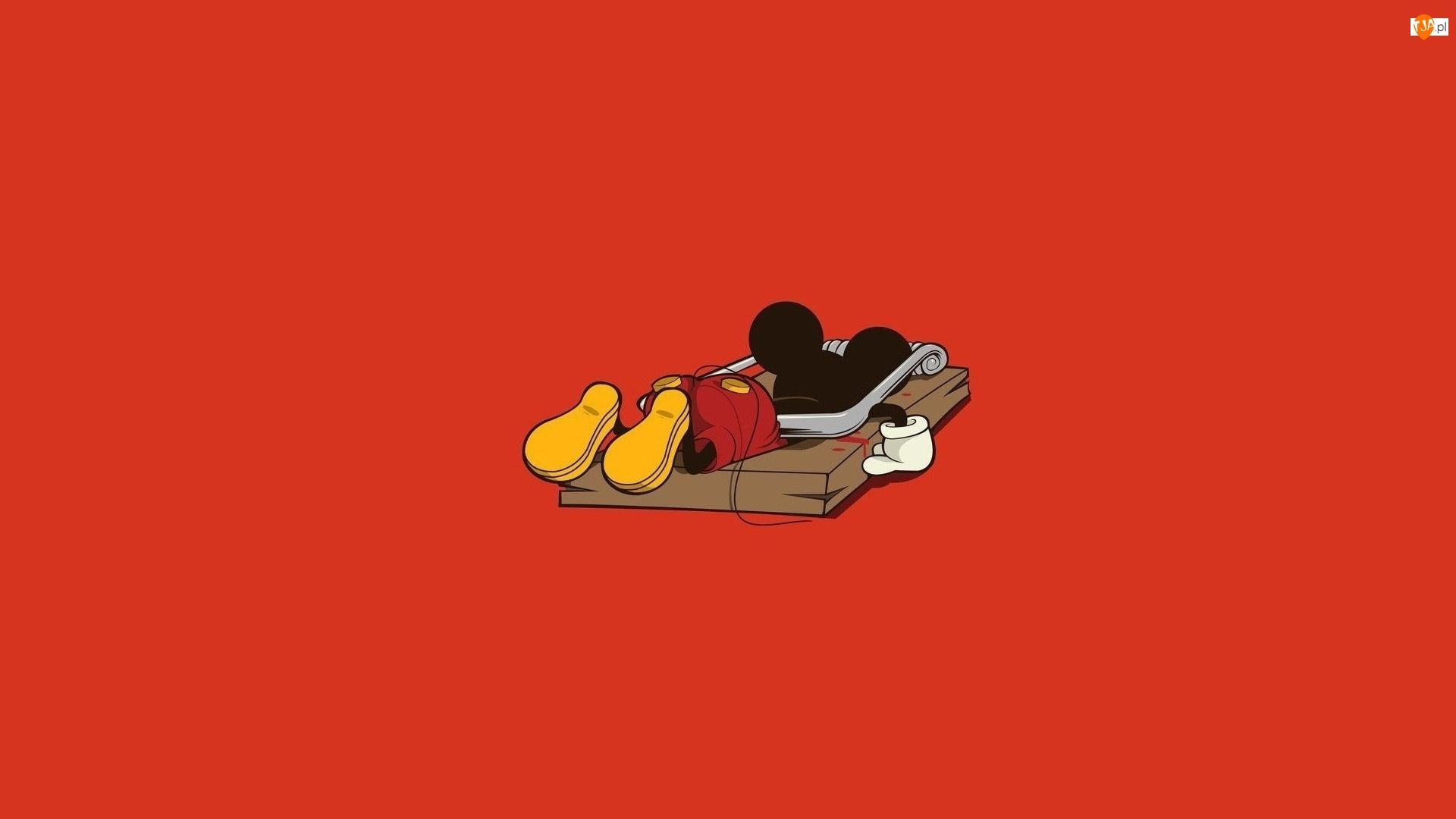 Miki, Myszy, Pułapka, Na