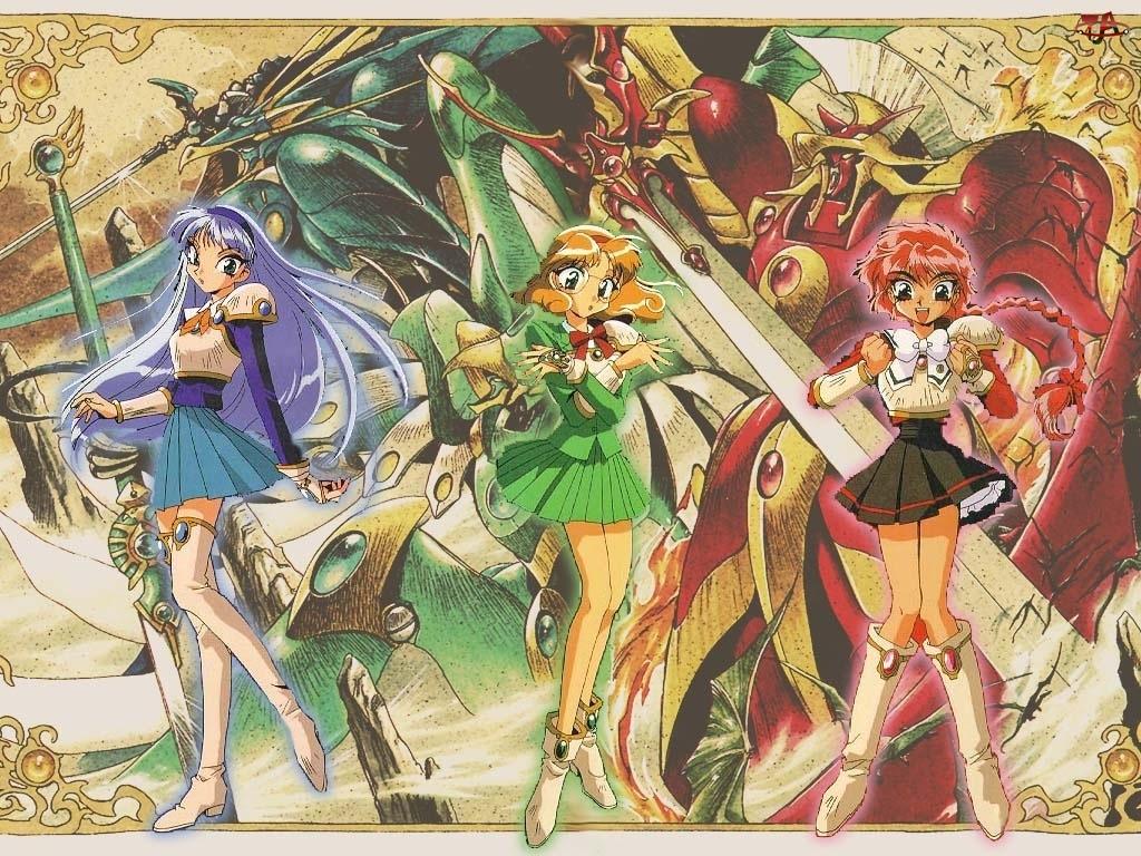 miecze, Magic Knight Rayearth, kobiety