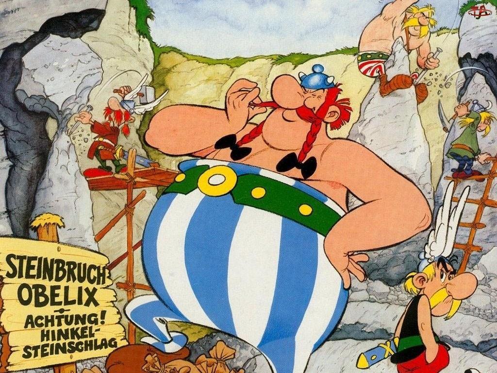 bajka, Film animowany, Asterix i Obelix