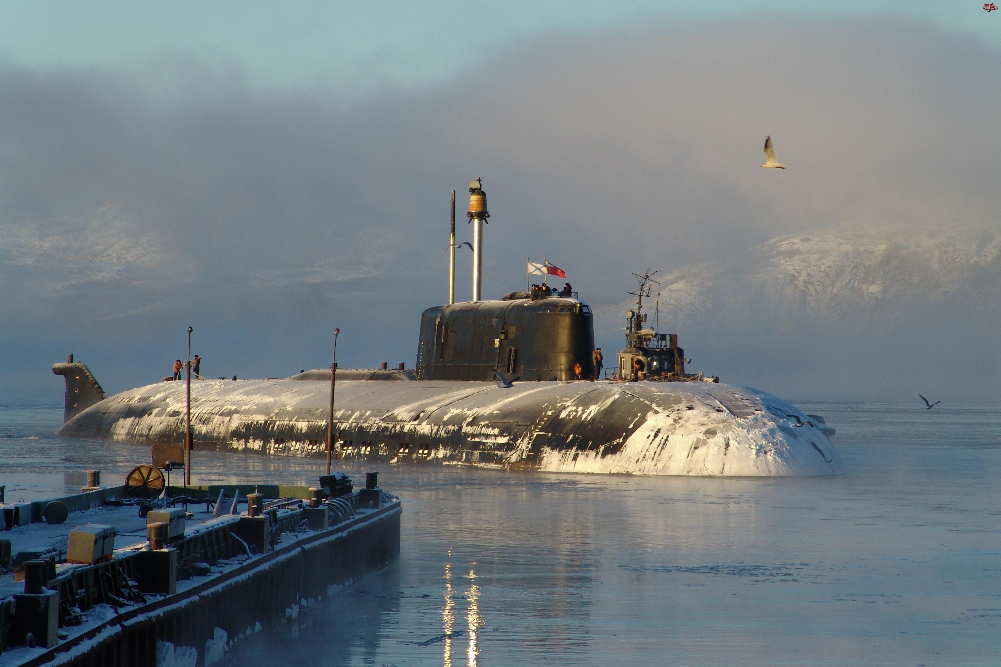 Podwodny, Zima, Okręt