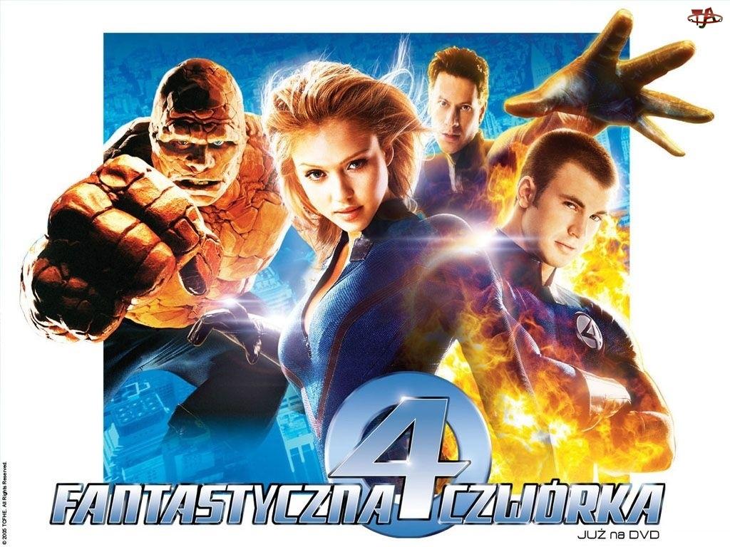 Michael Chiklis, Fantastic Four 1, Jessica Alba, Chris Evans, Ioan Gruffudd