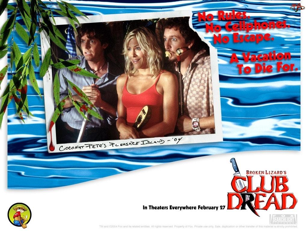 Club Dread, zdziwienie, Brittany Daniel, mężczyźni