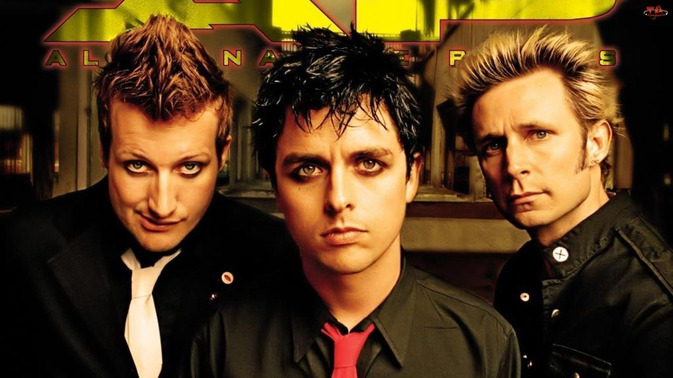 Green Day, Mike Dirnt, Billie Joe Armstrong, Tre Cool