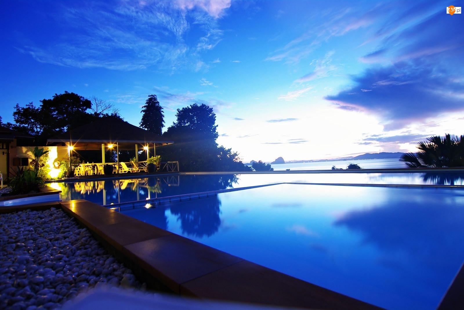 Tajlandia, Hotel, Basen