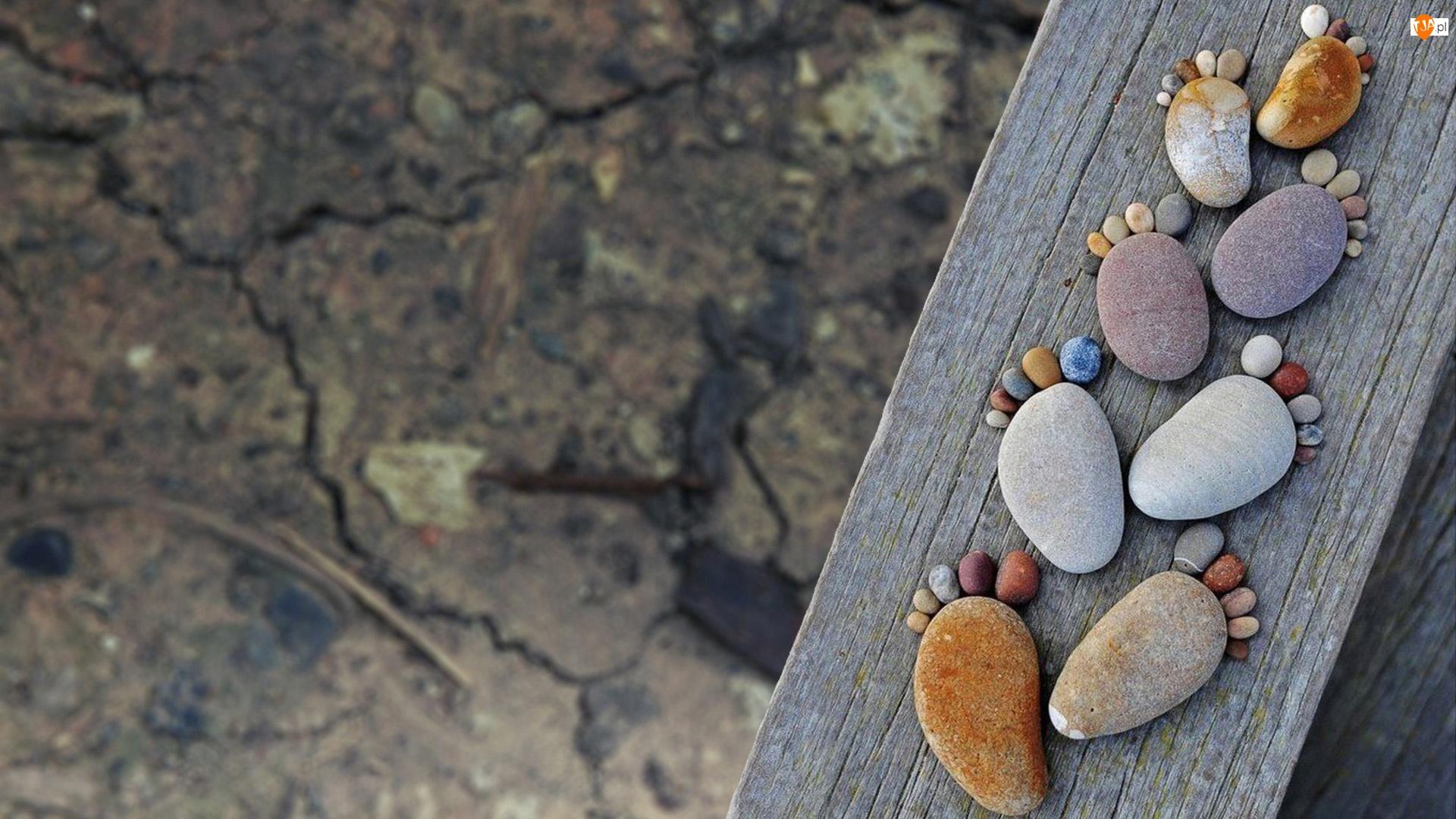 Stopy, Kamienie, Odciski