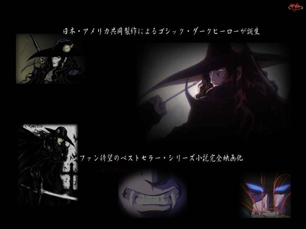 Vampire Hunter D - Bloodlust, napisy, ciemna, postać