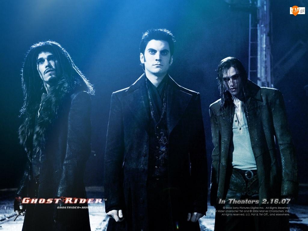 zombie, Ghost Rider, mężczyźni