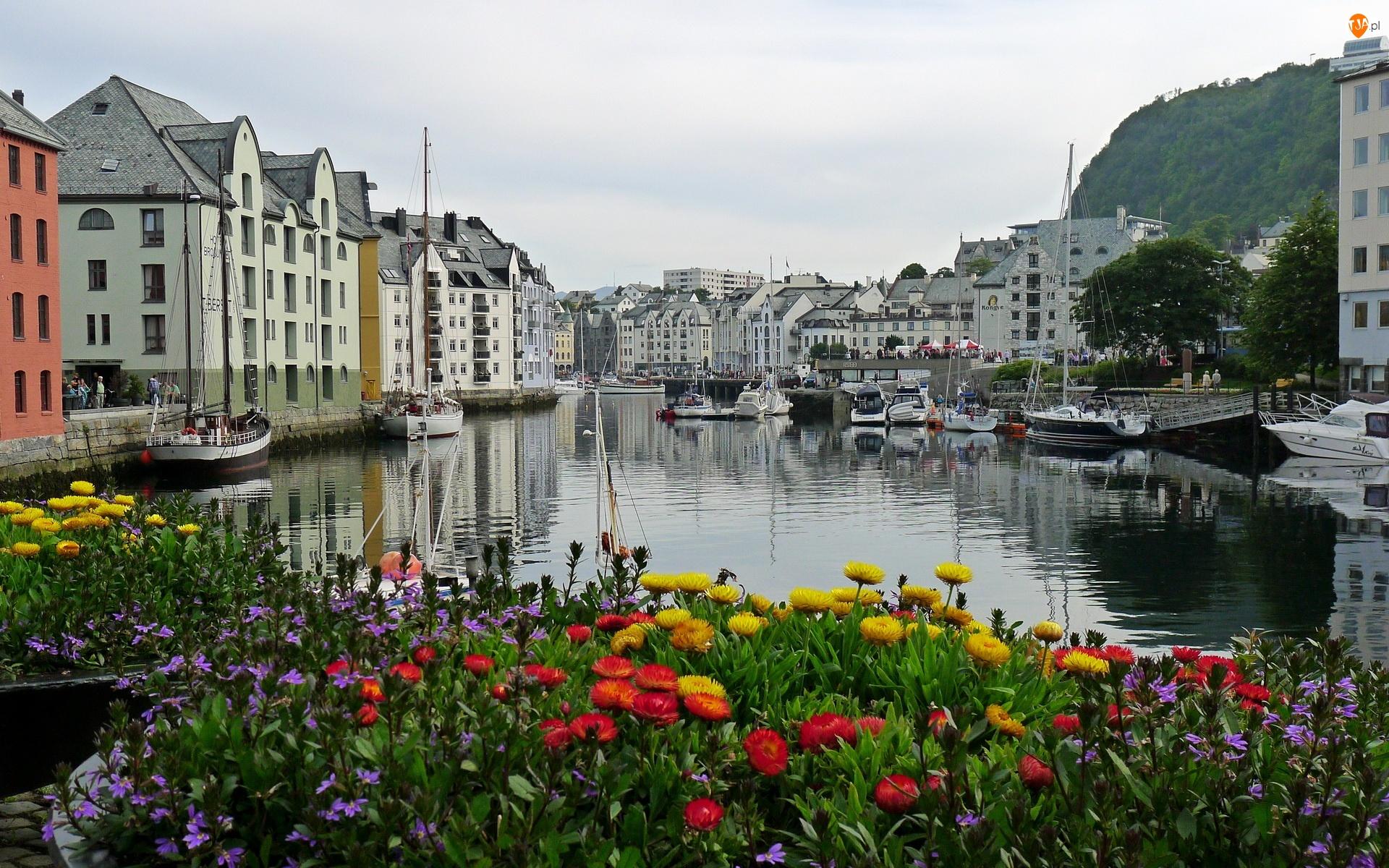 Norwegia, Panorama, Miasta