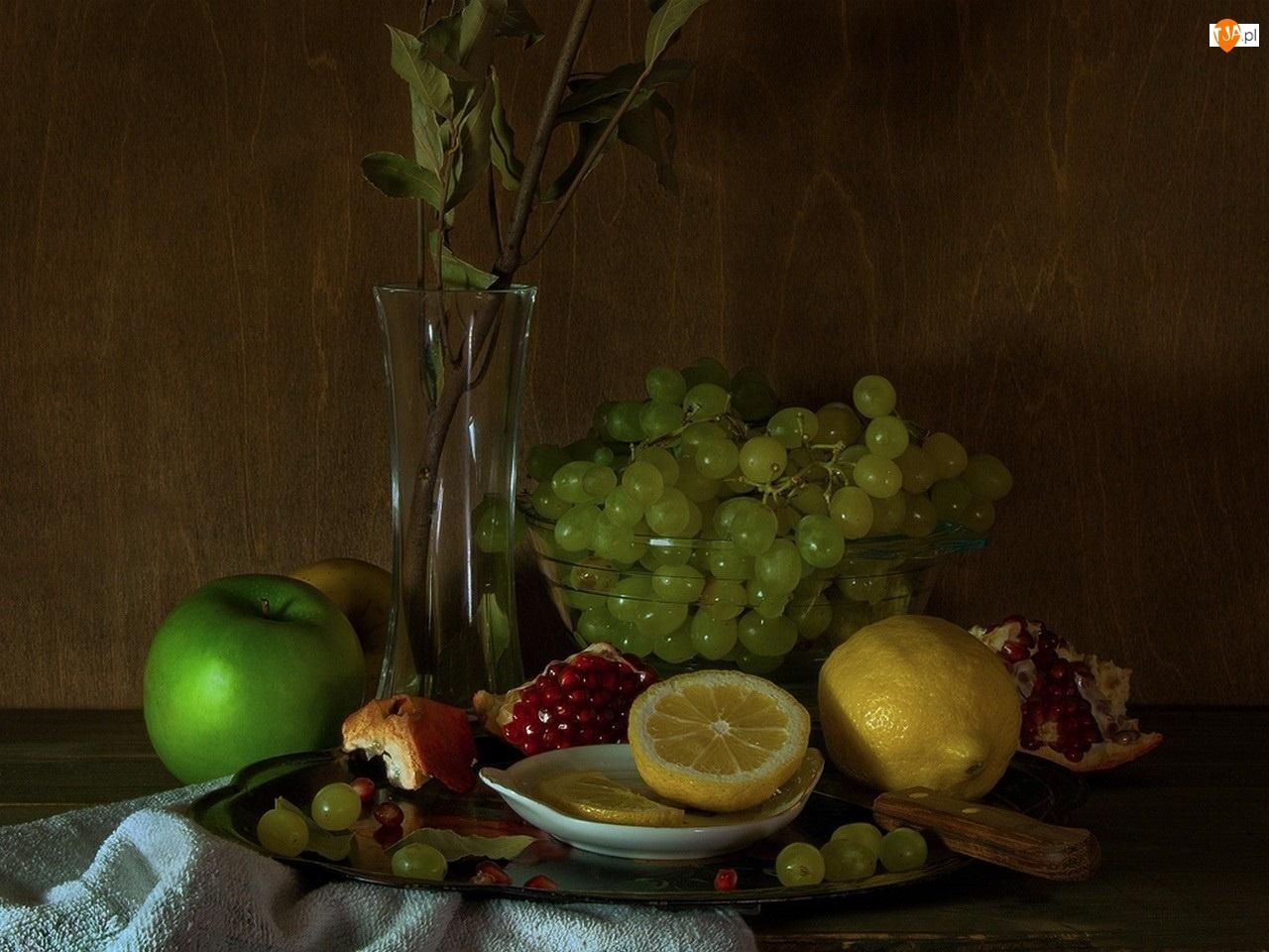 Owoce, Wazon, Różnorodne