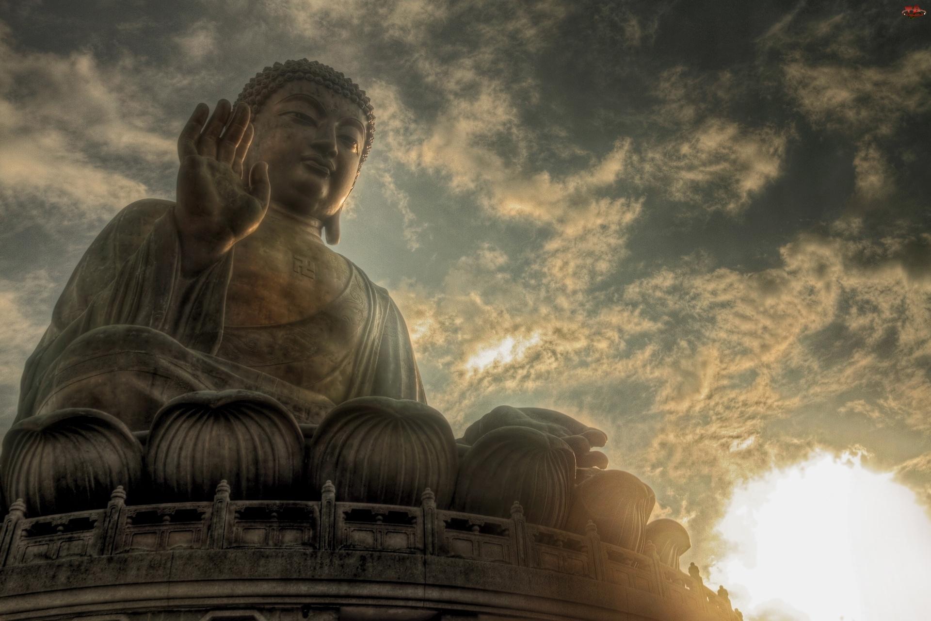 Słońca, Budda, Zachód