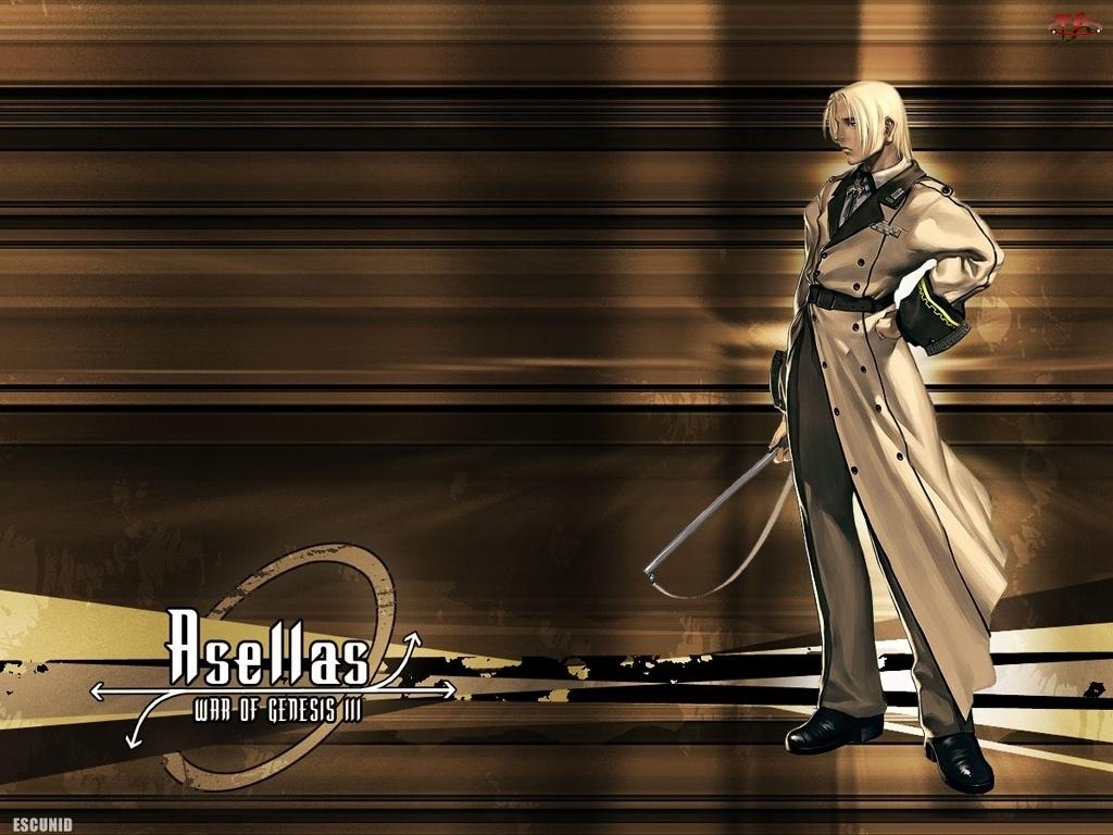 płaszcz, The War Of Genesis 3, postać, mężczyzna