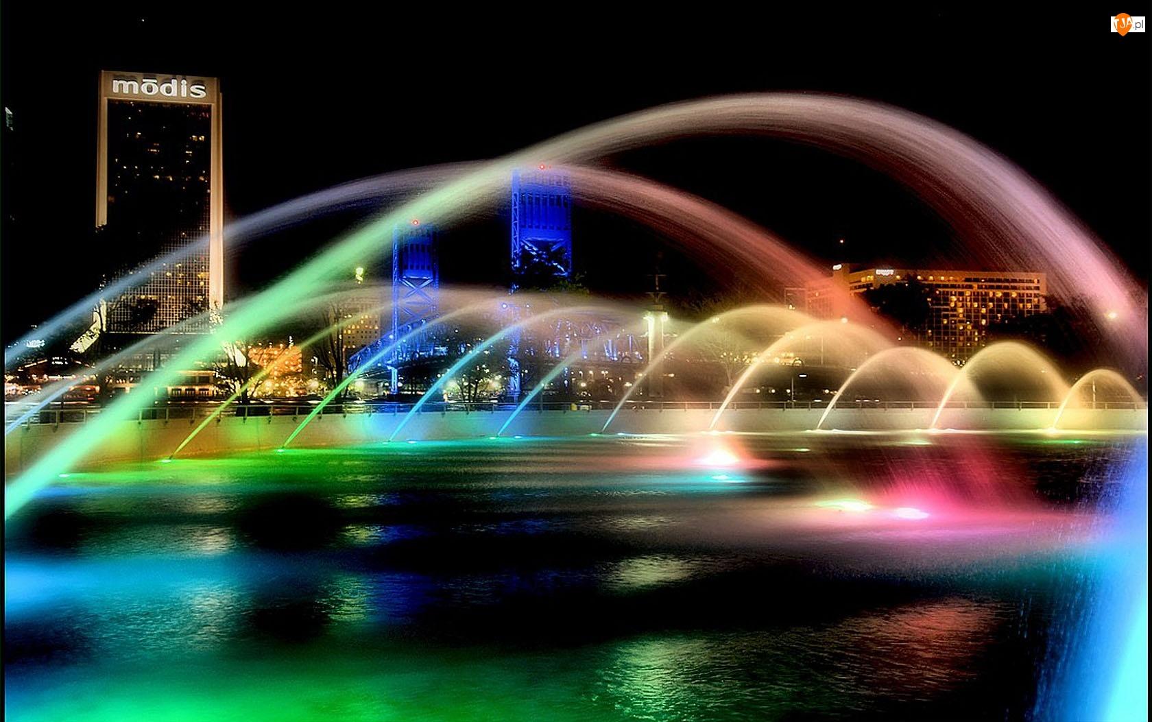 Jacksonville, Tęczy, Florida, Barwy
