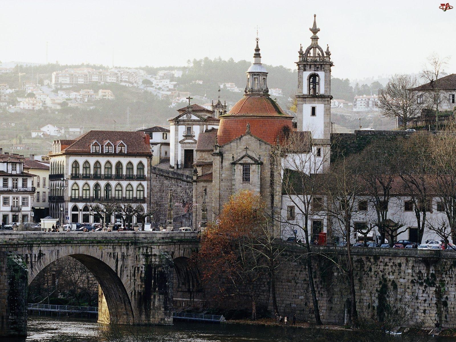 Portugalia, Architektura, Amarante, Most