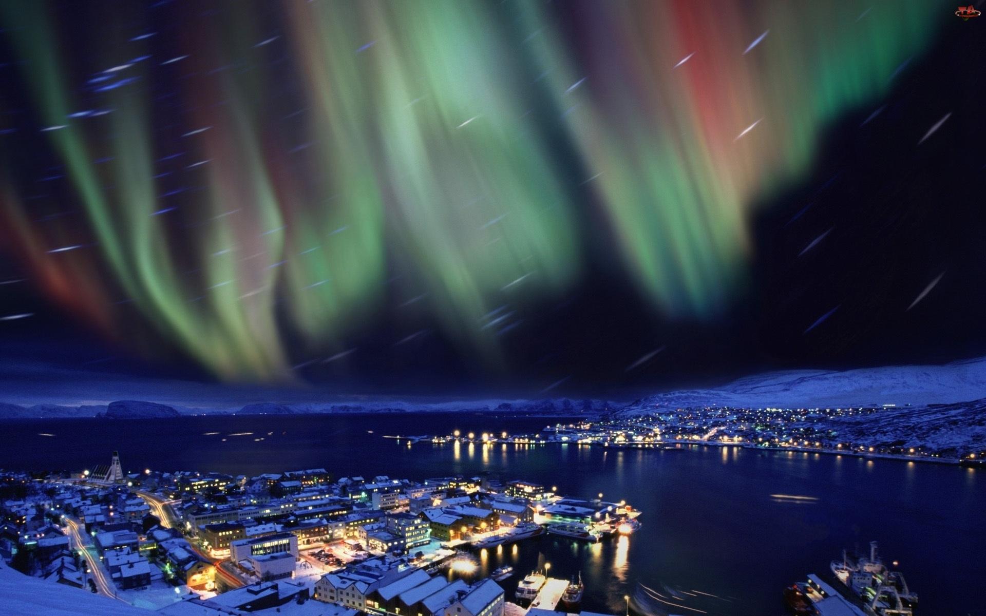 Norwegia, Zorza Polarna
