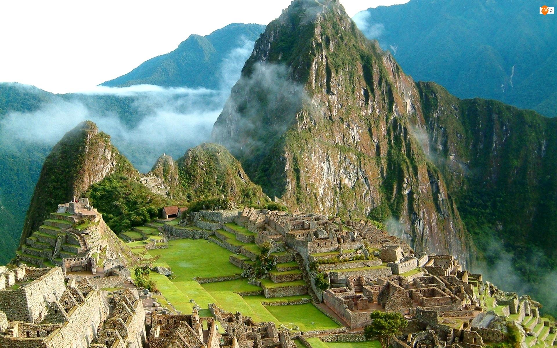 Góry, Machu Picchu, Peru