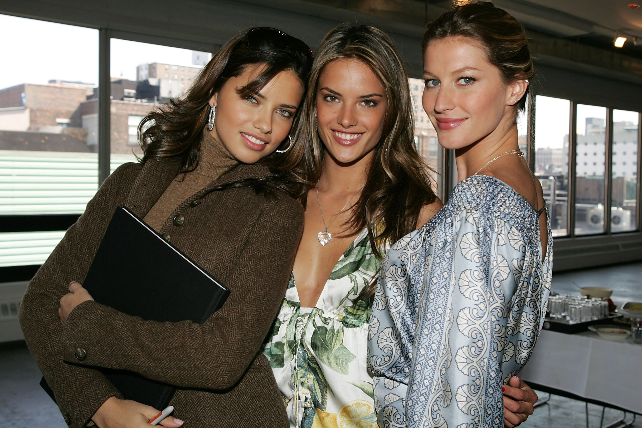 Modelki, Adriana Lima, Gisele Bundchen, Heidi Klum